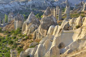Cappadocia, Turchia, camini delle fate  di Goreme