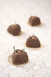 Coffee Mousse Heart Cakes