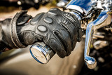 Fototapety Motorcycle Racing Gloves