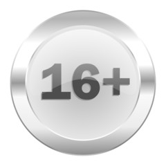 adults chrome web icon isolated