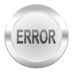 error chrome web icon isolated