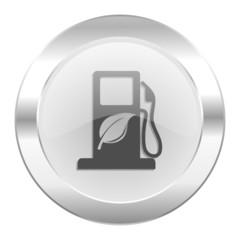 biofuel chrome web icon isolated