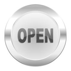open chrome web icon isolated
