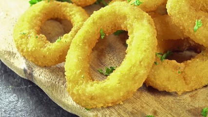 Rotating Onion Rings (loopable)