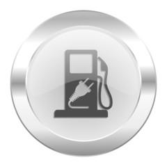 fuel chrome web icon isolated