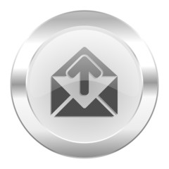 email chrome web icon isolated