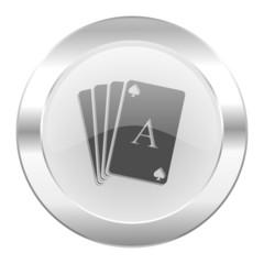 card chrome web icon isolated