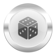 game chrome web icon isolated