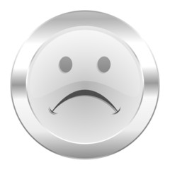 cry chrome web icon isolated