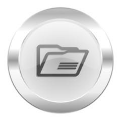folder chrome web icon isolated
