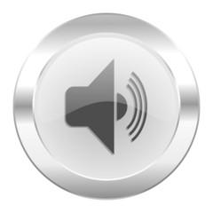 volume chrome web icon isolated