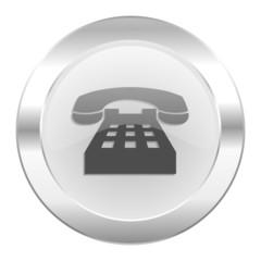 phone chrome web icon isolated