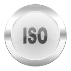 iso chrome web icon isolated