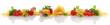 Leinwanddruck Bild - Italian ingredients for a pasta dish banner