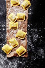 Fresh Italian Pasta in Square Cuts