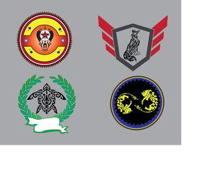 Collection Badges Sign No.1