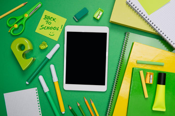 Back to school with tablet