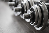 Fototapety sports dumbbells