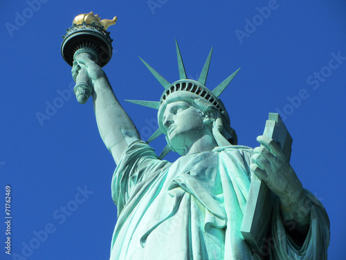 Foto op Aluminium Standbeeld Statue of Liberty, New York City, USA