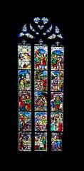 Vitrail de l'église Notre dame de la nativité à Saverne, Alsace