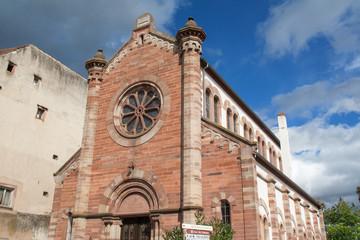 Eglise protestante Saint Mathieu, Obernai, Alsace, Bas Rhin