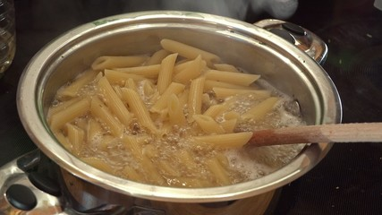 Cooking Penne