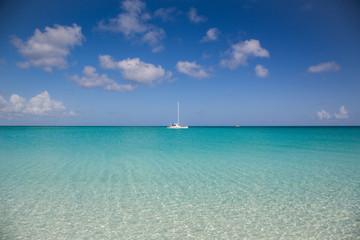 Paesaggi marini deli caraibi