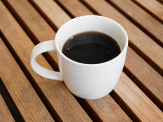 Americano black coffee