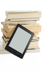 Books and e-reader