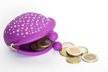 borsello con monete