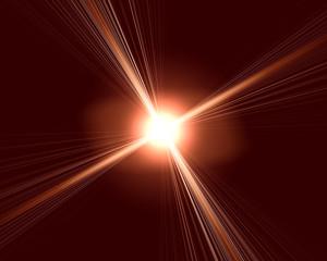 bright flare