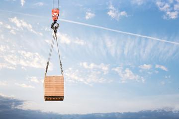 Hook cargo crane