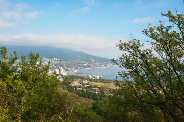 The city of Yalta. Crimea.