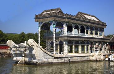 Marble ship at Summer Palace