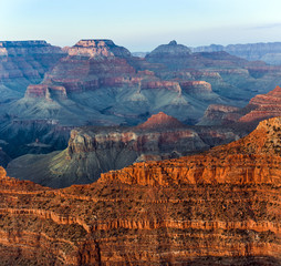 sunset at grand canyon © travelview