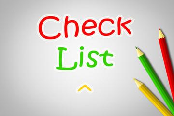 Checklist Concept