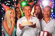 Obrazy na płótnie, fototapety, zdjęcia, fotoobrazy drukowane : Birthday party in club