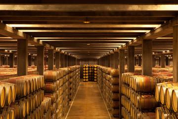 La Rioja Wine Barrels