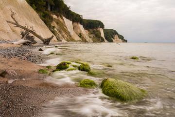 Kreideküste auf Insel Rügen