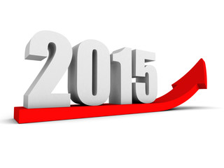 growing up 2015 year red success arrow