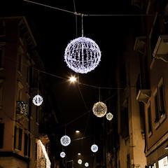 Christmas decoration on streets