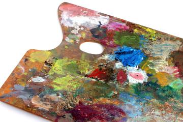 油絵の具のパレット
