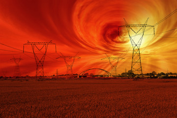 Magnetic storm and the disruption of energy networks