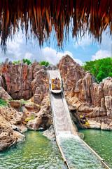 Amusement park in Spain