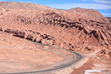 Landscape near San Pedro de Atacama (Chile)
