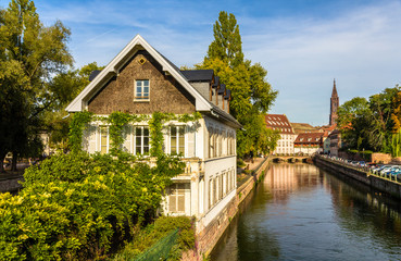 "Strasbourg in the ""Petite France"" area - Alsace"
