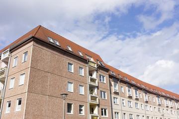 Plattenbau in Neubrandenburg,Deutschland