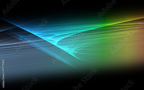 canvas print picture Rainbow Colors - Background -