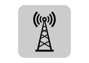 Transmitter vector icon