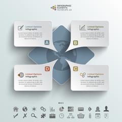 Speech Infographic Background